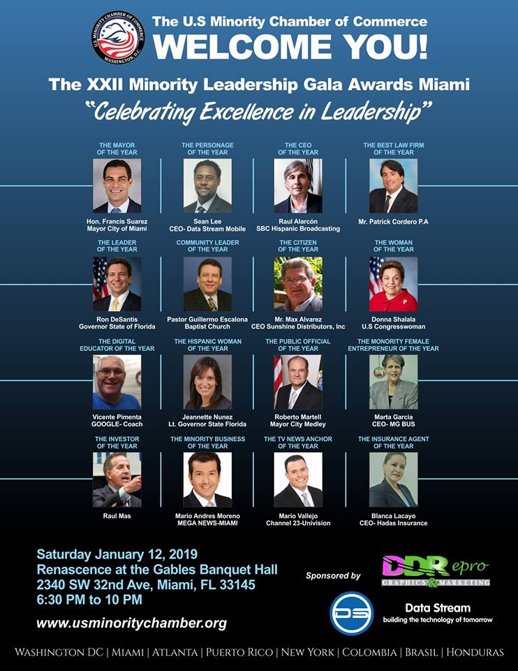 The XXII Edition Of The Excellence In Leadership Gala Awards Miami